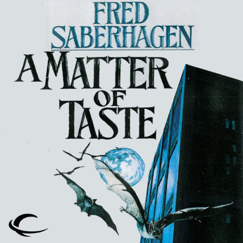 A Matter of Taste audiobook cover art