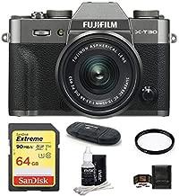 $849 » Fujifilm X-T30 Digital Camera (with XC 15-45mm Lens 64GB Bundle, Dark Silver)