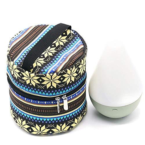 Rubyu Olietas, etherische olietas bedrukte multifunctionele opbergtas opbergtas, nagellak box, opslag voor aromatherapie-machine