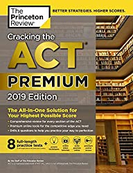 Cracking the ACT Premium Edition - Best ACT Prep Books