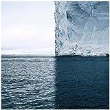 Die perfekte vierquadratische Landschaft der Eisberge in