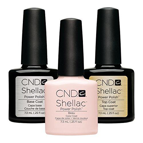 CND Original CND Shellac Beau plus Base Coat plus Top Coat 7.3 ml, 1er Pack (1 x 22 ml)