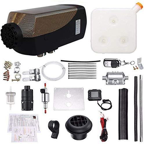Diesel Luftheizung Air Standheizung 5KW 12V / 24V Luft Diesel Standheizung mit Fernbedienung Diesel Lufterhitzer Kraftstoff Auto Heizung LCD Monitor Thermostat für RV Wohnmobilanhänger LKW Boote
