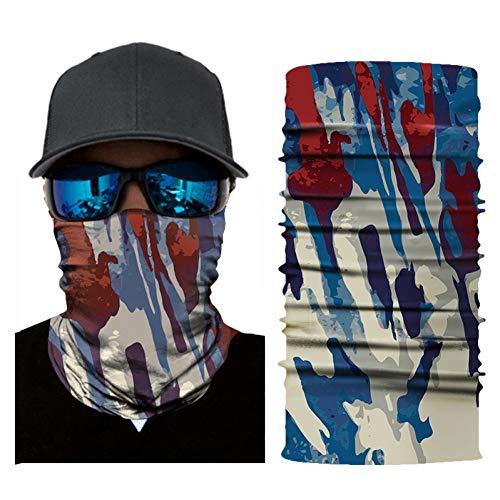 Motorfiets Masker Gelaatsscherm Vrouw Man Wielrennen Bandana's Meervoudig gebruik Hoofdband Nekwarmer Magisch Hoofddeksel Vissen Hoofddoek