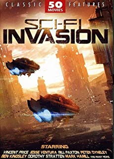 Sci-Fi Invasion - 50 Movie Pack: The Brother from Another Planet - The Crater Lake Monster - The Creeping Terror - Galaxina - Morons from Outer Space - Slipstream + 44 more!