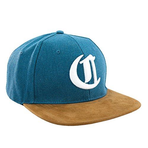 Morefaz Nouveau Snapback Cap Toit en suède Casquette de Baseball Bonnet Cap Chapeau Snap Back 3D Gothique C (C White)