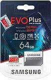 SAMSUNG EVO Plus - Tarjeta microSD SDXC (2020) 64GB hasta 100 MB/S Full HD & 4K UHD Memory...
