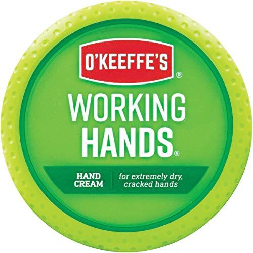 O'Keeffe's Working Hands. Tarro de crema para manos agrietadas y cortadas (95 g)