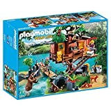 Playmobil Wild Life Adventure Tree House Juego de construcción - Juguetes de construcción (Juego de construcción, Multicolor, 4 año(s), Niño/niña, 10 año(s), 32 cm)