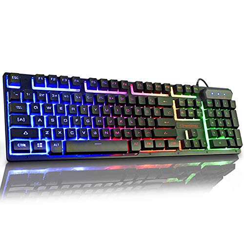 Color : Crystal Punk Mechanical Keyboard OFNMD Steampunk E-Sports Mechanical Keyboard Desktop Laptop Wired Game Metal Axis Water-Cooled Backlight