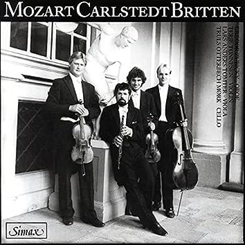 Mozart · Carlstedt · Britten
