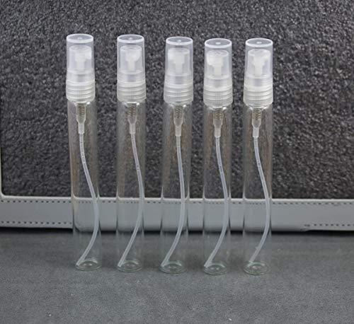 25 Pieces 10ml Glass Atomizer Refillable Pump Spray Perfume Empty Bottle~ing