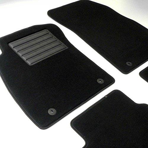 MTM Tappetini Q7 (4M) 7 Seats 2015- su Misura in Velluto di Alta qualità, Personalizzabili, Battitacco Rinforzato, Bordo Antiscivolo, Sagomati Come Originali, cod. Plus 7791