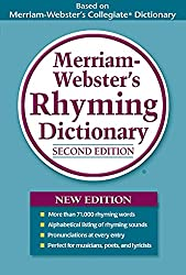 Merriam Webster's Rhyming Dictionary