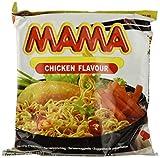 Mama Instant Noodles Chicken - Paquete de 20 x 90 gr - Total: 1800 gr