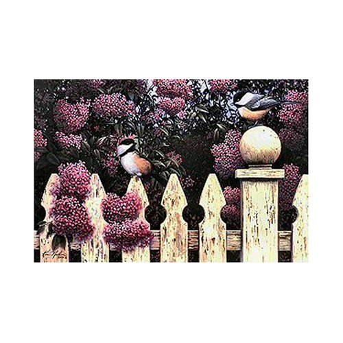 Serendipity Puzzle Company Meeting in the Lilacs 1000 Piece Jigsaw Puzzle