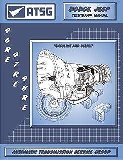 ATSG 46RE 47RE 48RE Manual de reparo de transmissão (48RE Transmissão - 48RE Controlador de pressão Solenoide - Corpo da v...