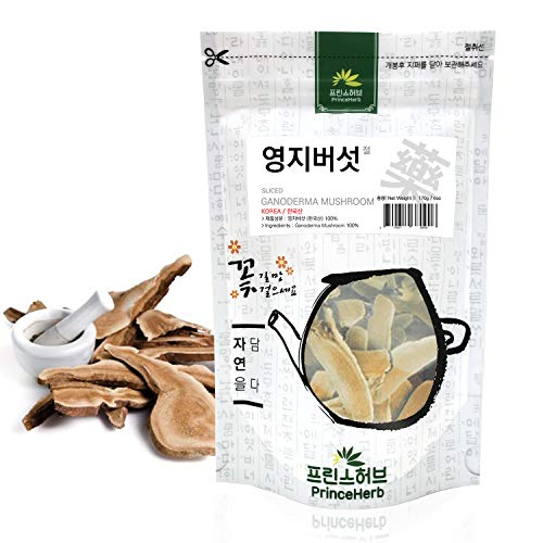 [Medicinal Korean Herb] Premium Grade Ganoderma Mushroom (Lingzhi Mushroom/Lingzhi/영지버섯) Dried Bulk Herbs (6 oz/Sliced)