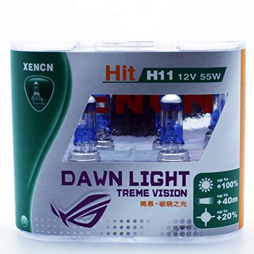 2x XENCN H11 12V 55W PGJ19-2 3800K Dawn Light X-treme Vision Car Headlights Fog Halogen Bulbs