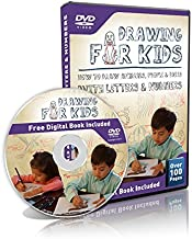 Drawing for Kids - Learn How to Animals, People & More with Letters & Numbers