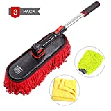 Best Car Dusters - RIDE KINGS Car Duster kit, Extendable Soft Microfiber Review