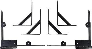 Nuvo Iron Gate Corner Brace and Hinge Kit CBHK01