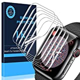 LK 6 Pack Screen Protector for Apple Watch Series 6 SE Series 5 Series 4 40mm, Model No. LK-40MM-1,Japanese Material, Anti-Scratch, Ultra-Thin Clear TPU Film