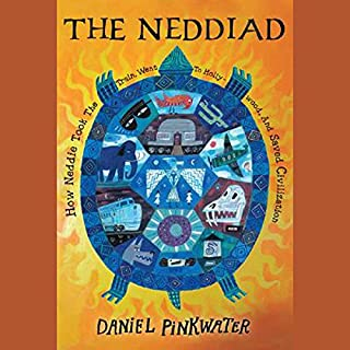 The Neddiad audiobook cover art