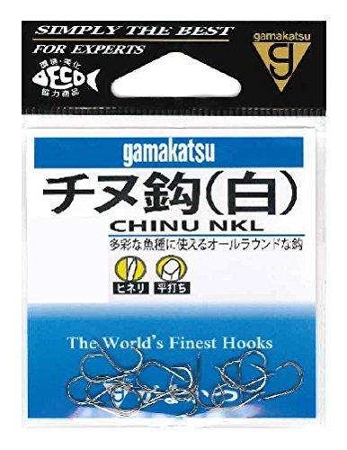 がまかつ(Gamakatsu) チヌ フック 白 6号 釣り針