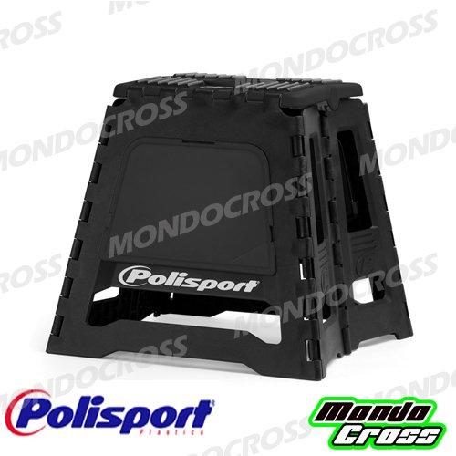 MONDOCROSS Cavalletto moto mx cross motard enduro Bike Stand POLISPORT Nero