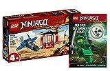 Collectix Lego Ninjago 71703 - Juego de figuras de acción con el Jorro del trueno y la victoria del Ninja verde (cubierta blanda)