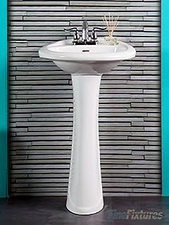 Amazon Com Small Size Pedestal Sinks Bathroom Sinks Tools
