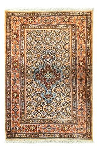 Morgenland Teppiche 5162Moud104x77 Teppiche, 100% Schurwolle, 104 x 77 cm
