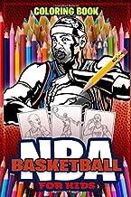 NBA For kids : NBA Basketball Coloring Book: Activity Book : Biography ,Players, Jerseys, Shoes and Logos . NBA All Stars