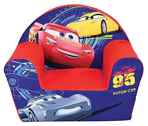 Cjep Kinder-Polstersessel Lizenz Cars, Polyester, 52x33x42 cm