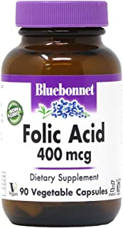BLUEBONNET NUTRITION FOLIC ACID 400 mcg