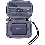 XANAD Case for Samsung T3 T5 Portable 250GB 500GB 1TB 2TB SSD USB 3.1 External Solid State Drives
