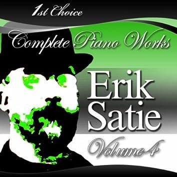 Erik Satie - Complete Piano Works, Volume 4