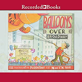 Balloons over Broadway audiobook cover art