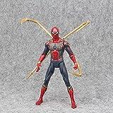 LHFD Figura de acción de Spider-Man, Figura de acción de superhéroe de Juguete, Figura de acción Coleccionable de 17 cm Juguete de Spider-Man