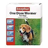 Beaphar 1 Dose Wormer Tablets For Medium Dogs 2 Tablets