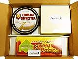 スイートオーケストラコレクション (3種類の人気スイーツをセットにしました!) フロマージュオーケストラ・かご盛レアチーズケーキ・スイートポテトのセット (北海道の厳選素材を使った大人気すいーつをセットでお届け!!) わらく堂スイートオーケストラ