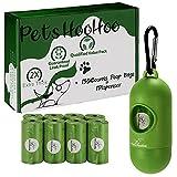 Pets HooHoo Dog Poop Bags - Biodegradable Waste Bag...