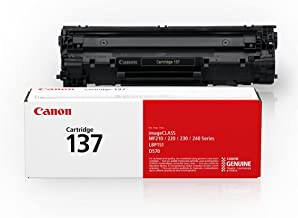 Canon Genuine Toner Cartridge 137 Black (9435B001),...