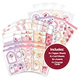 Hunkydory Pearl Bouquet Luxury Card Collection PBOUQUET101