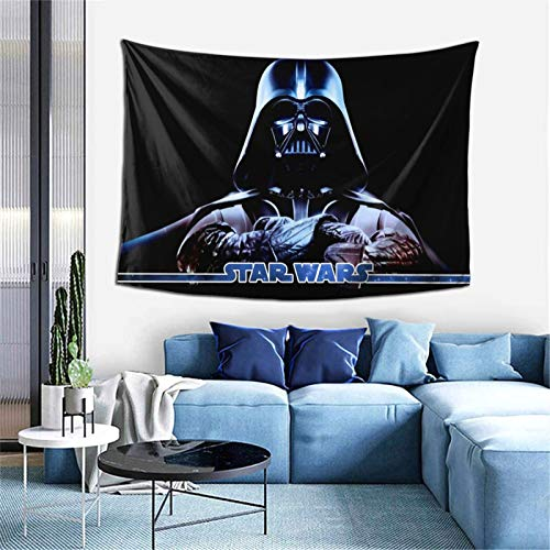 KINUNKN Darth Vader Tapestry Cool Wall Hanging Home Decor for Bedroom Living Room, 40×60 inch
