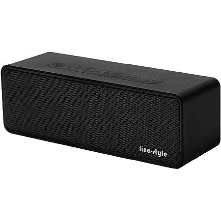 iina-style Bluetooth スピーカー コンパクト SoundCompact 2 (Bluetooth4.2 高音質 軽量 IP65 防水 防塵 12時間連続再生) IS-BT20A