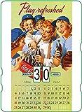 Calendario perpetuo Coca-Cola: Vintage Play Refreshed