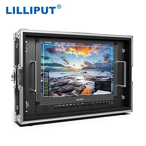 "LILLIPUT BM150-4KS New 15.6"" 3840x2160 4x4K HDMI 3G-SDI in&Out Broadcast Director Monitor with HDR, 3D-LUT, Color Space"