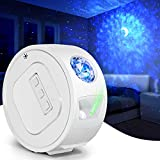 Star Projector, Galaxy Projector with Moon Light, Night Light Projector for Fathers Day Gifts, Ultra Quiet Ocean Wave Projector, Galaxy Lamp Starlight Projector with LED Nebula Cloud for Gaming Room